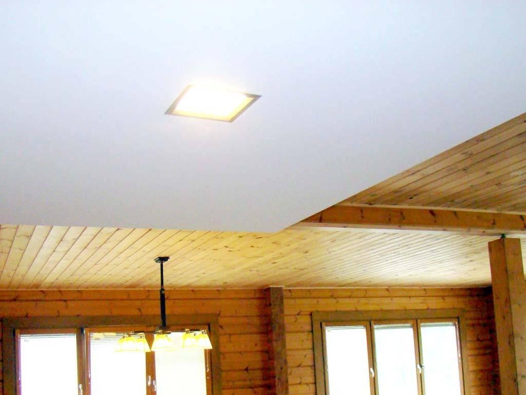 Как сделать потолок в деревянном доме своими руками?