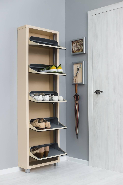 Помогаем выбрать лучшую полку для обуви в прихожую