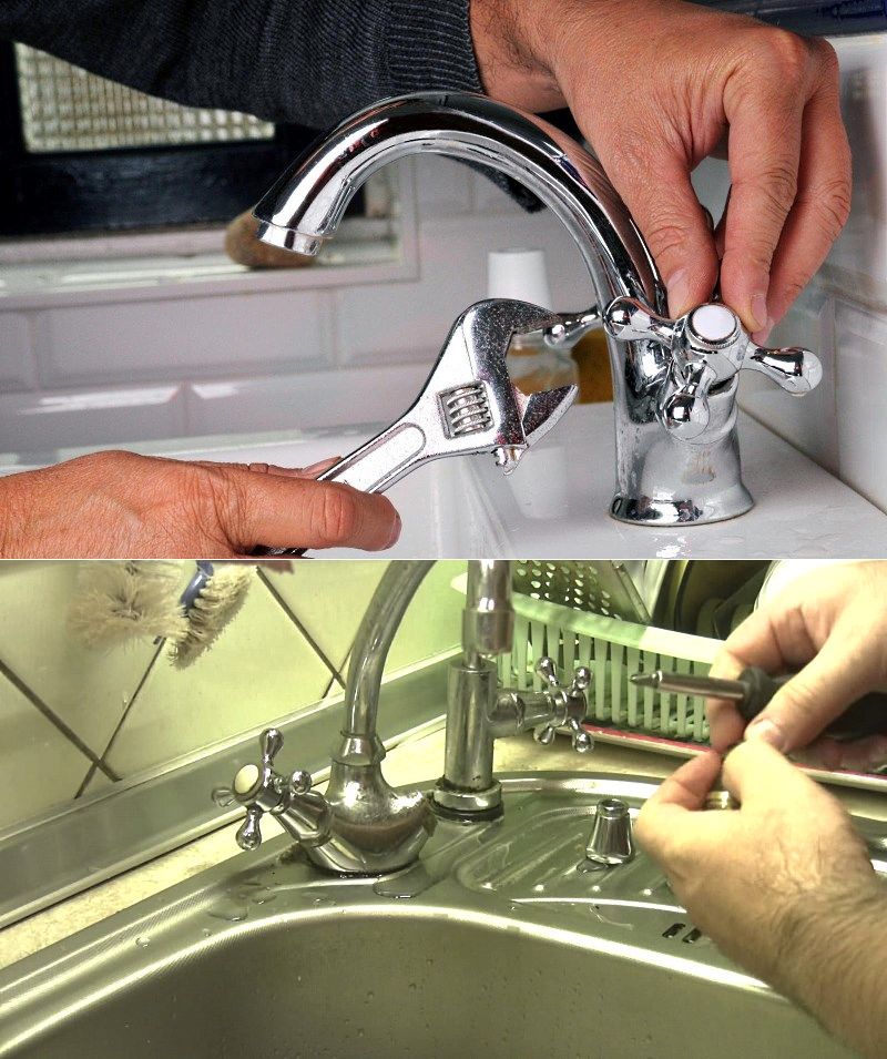 Как починить кран в ванной, если он течет, капает, бежит, протекает - варианты ремонта смесителя