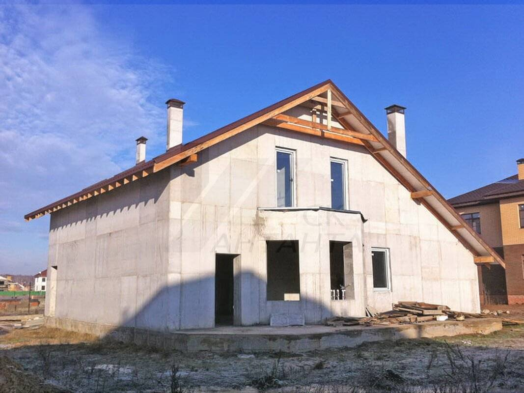 Строительство монолитных домов коттеджей, дом из монолита под ключ