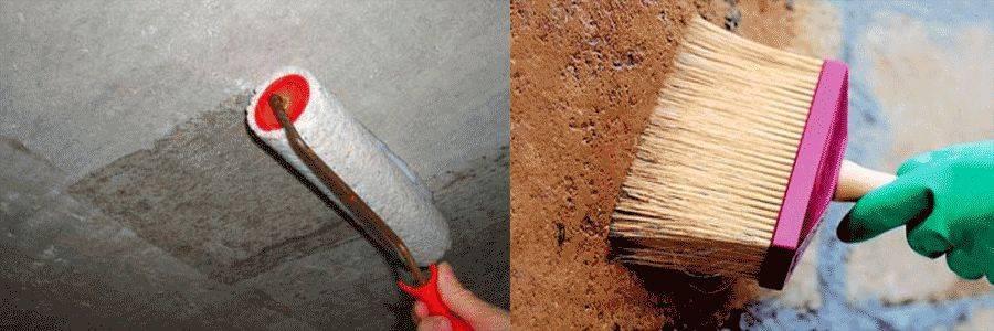 Как наносить фактурную краску на стены и потолок правильно и быстро