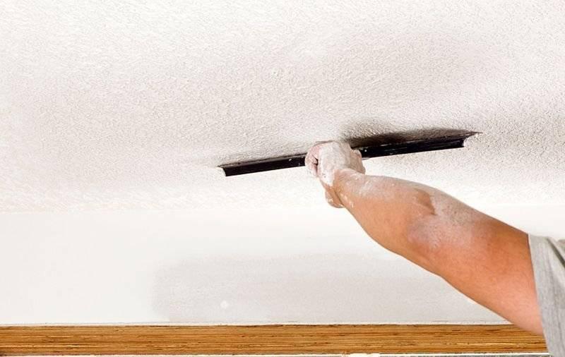 Удаление дефектов покраски стен и их виды