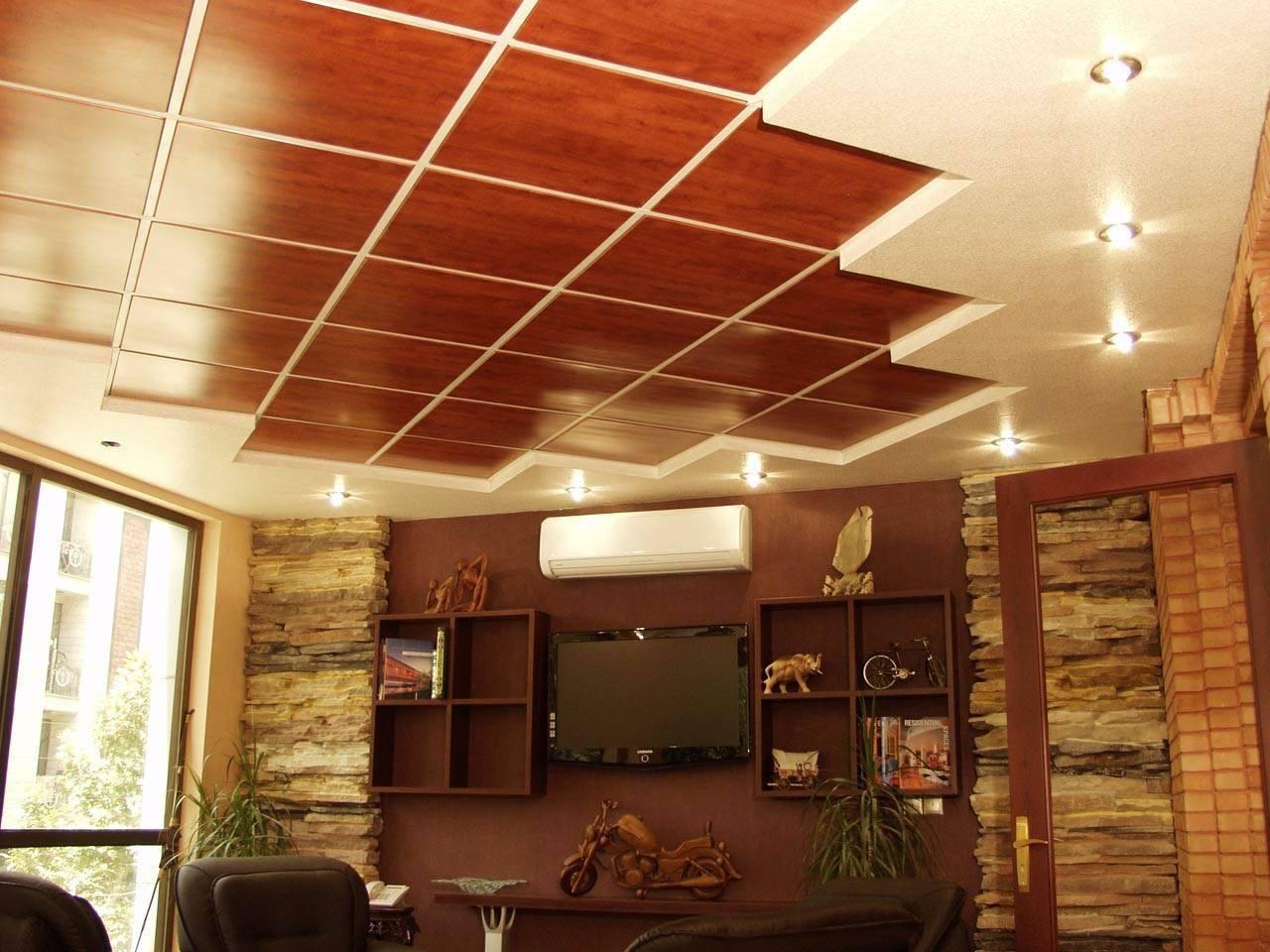 18 вариантов отделки потолка +75 фото идей и примеров дизайна