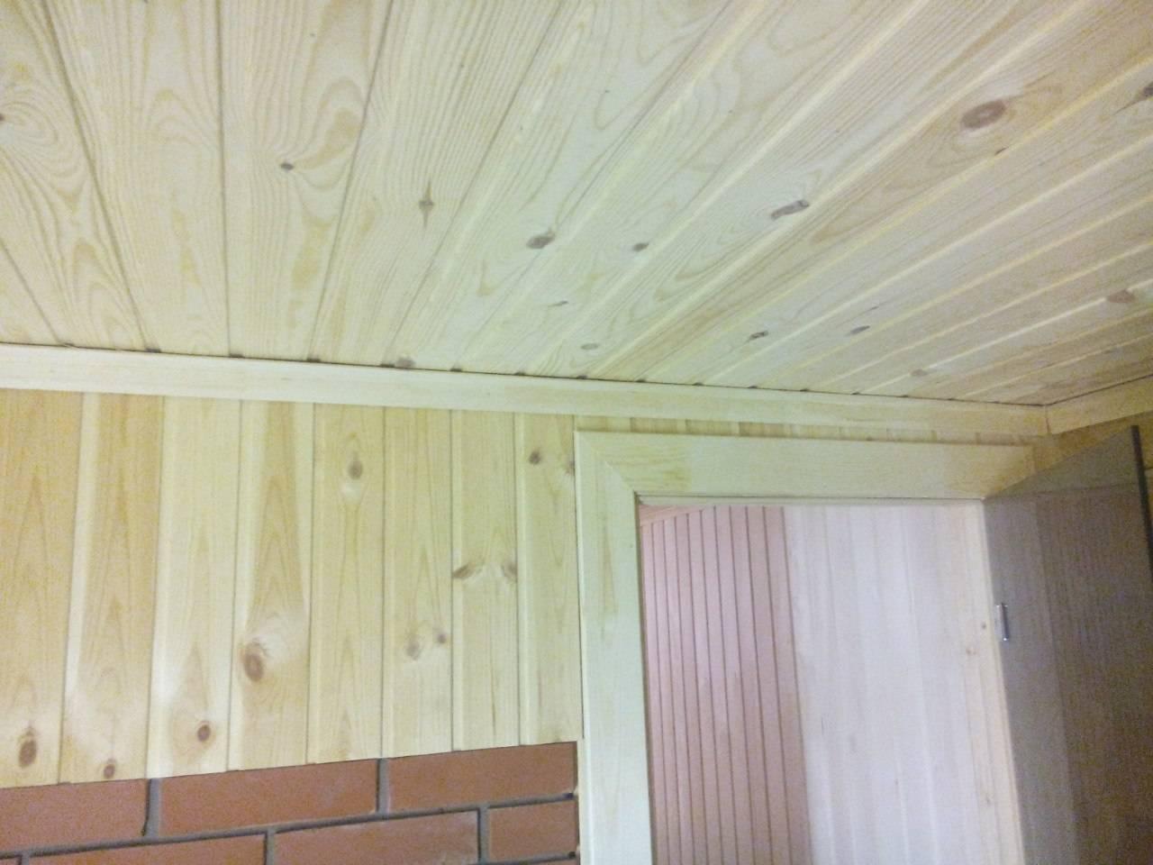 Обшивка и монтаж вагонки на потолок своими руками и стоимость работы