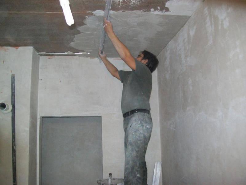 Штукатурка потолка
