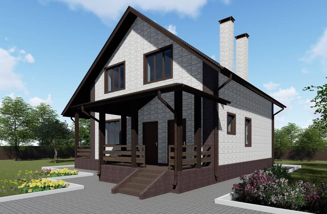 Выбираем грамотную и подходящую планировку дома 5х6 с мансардой