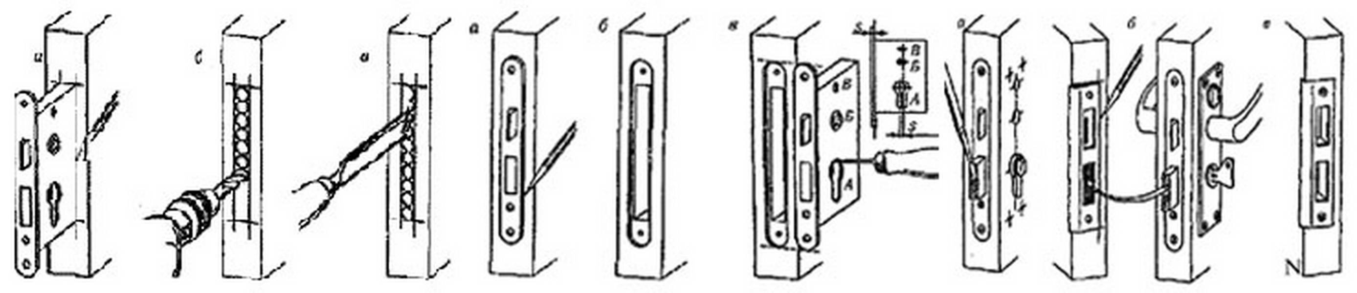 Как врезать замок в деревянную дверь? установка дверного замка своими руками, выбор инструментов и правила монтажа