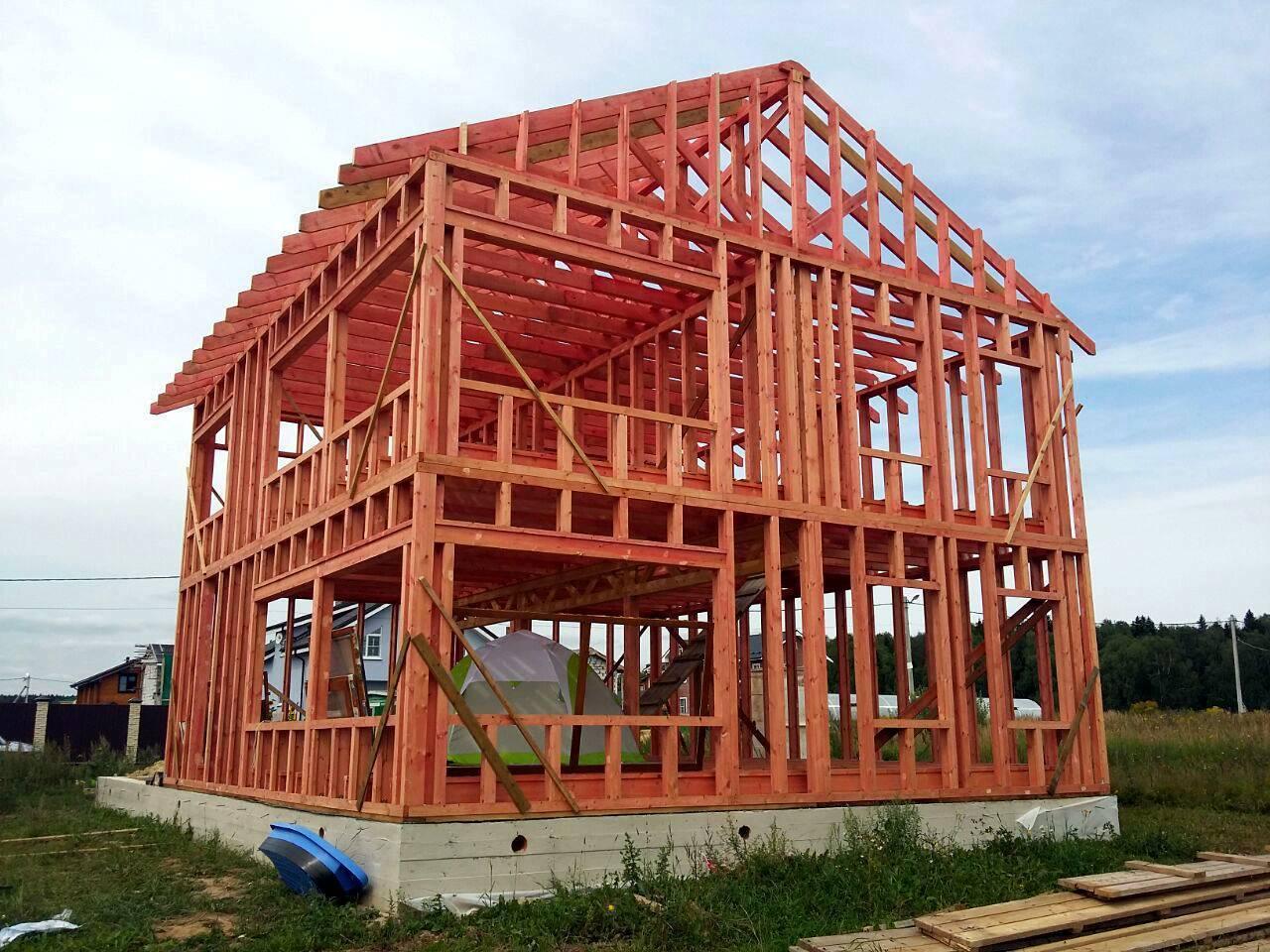 Деревянные каркасные дома - как строить правильно