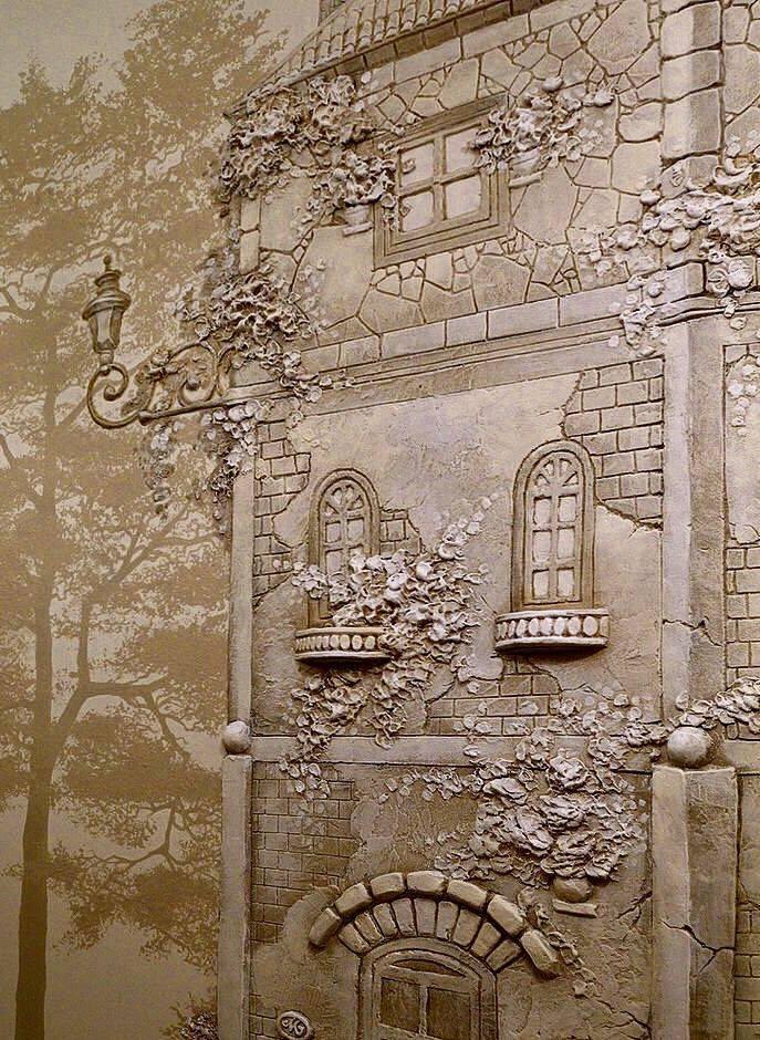 Барельеф на стену своими руками - пошаговое руководство