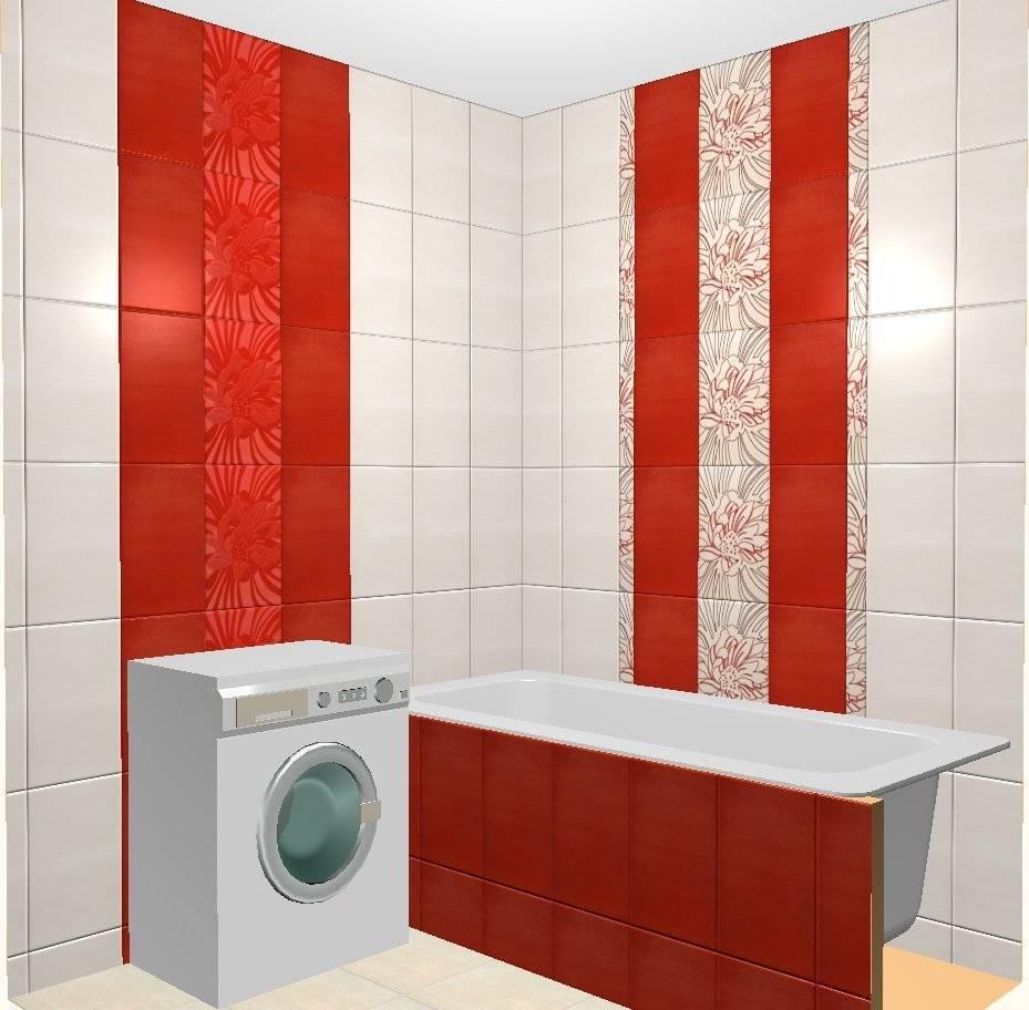 Варианты и примеры раскладки плитки в ванной комнате: как правильно раскладывать кафельную плитку, идеи с фото