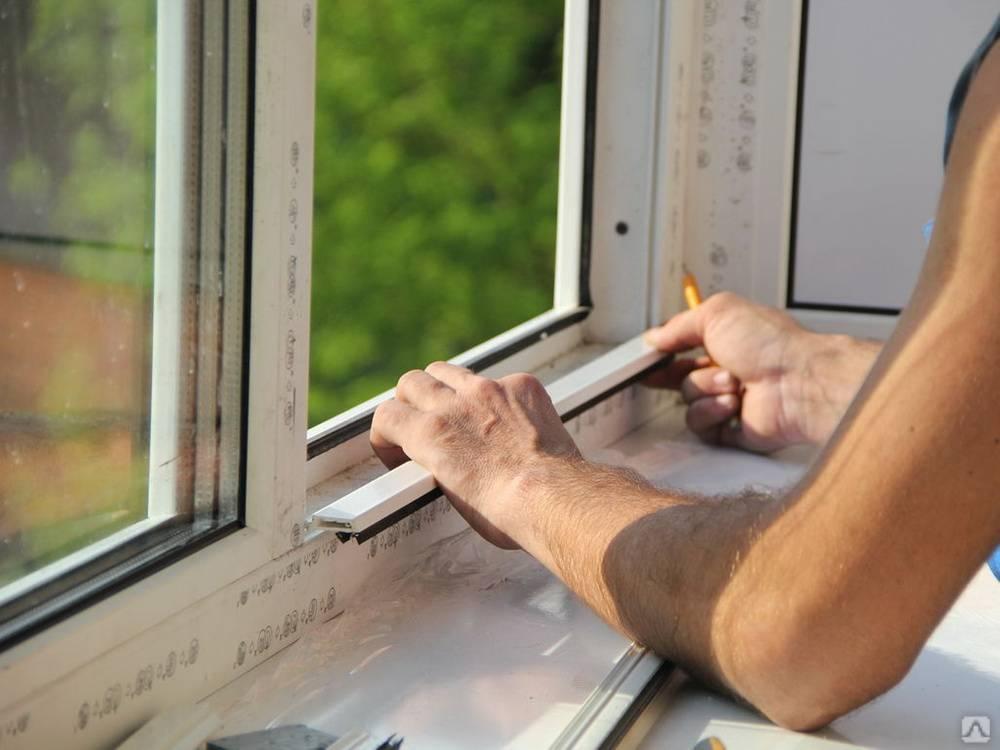 Узнаем как снять створку пластикового окна: пошаговая инструкция