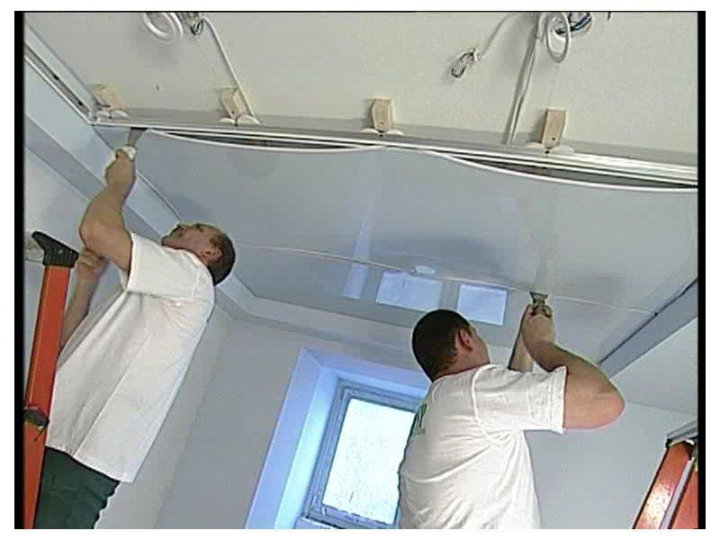 Сколько стоит установить натяжной потолок? цены за квадратный метр