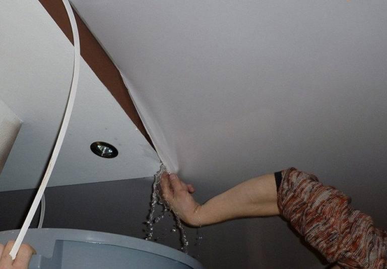Ремонт потолка после протечки своими руками: образец сметы после затопления и цена