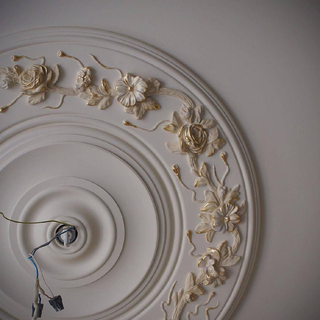 Лепнина на стенах: 105 фото и практичное руководство по созданию узора