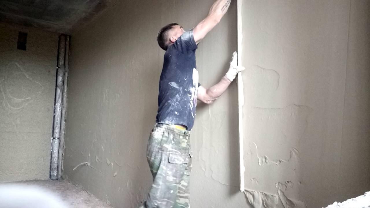 Выравнивание штукатуркой потолка – как делать это правильно