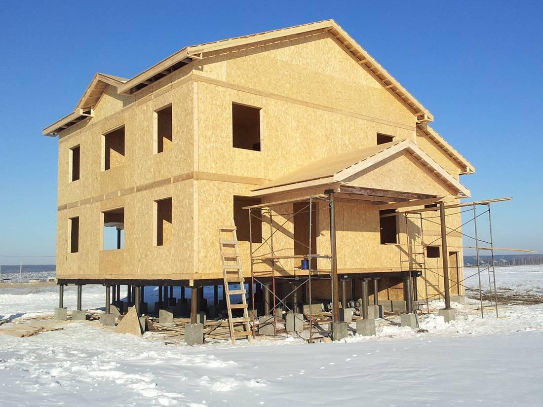 Каркасная технология домостроения: особенности технологии и этапы возведения дома. каркасно-панельные дома