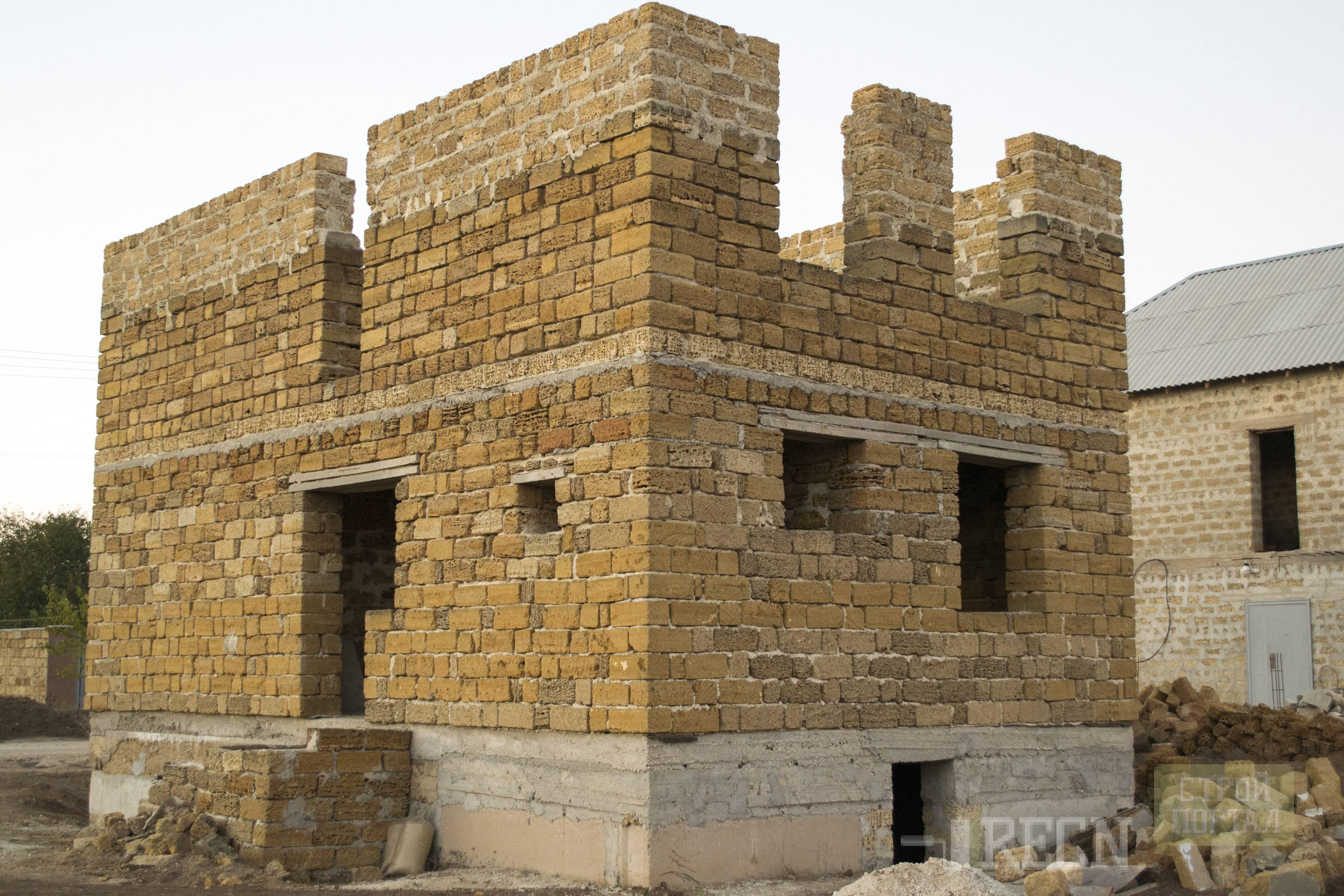 Дом из камня ракушечника. строительство дома из ракушняка: характеристики и преимущества. что за материал такой