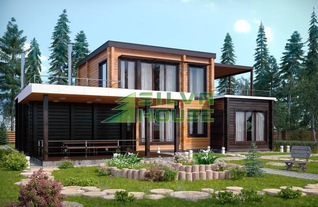 Особенности деревянных домов в стиле хай-тек