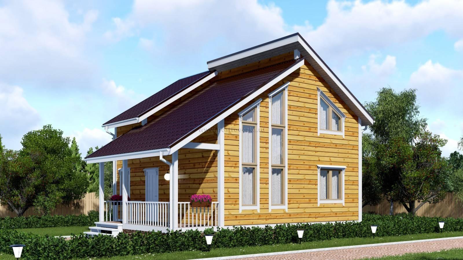 Каркасные дома для постоянного проживания и проекты