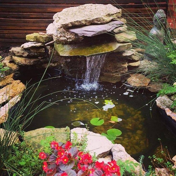 Строим водопад на приусадебном участке своими руками