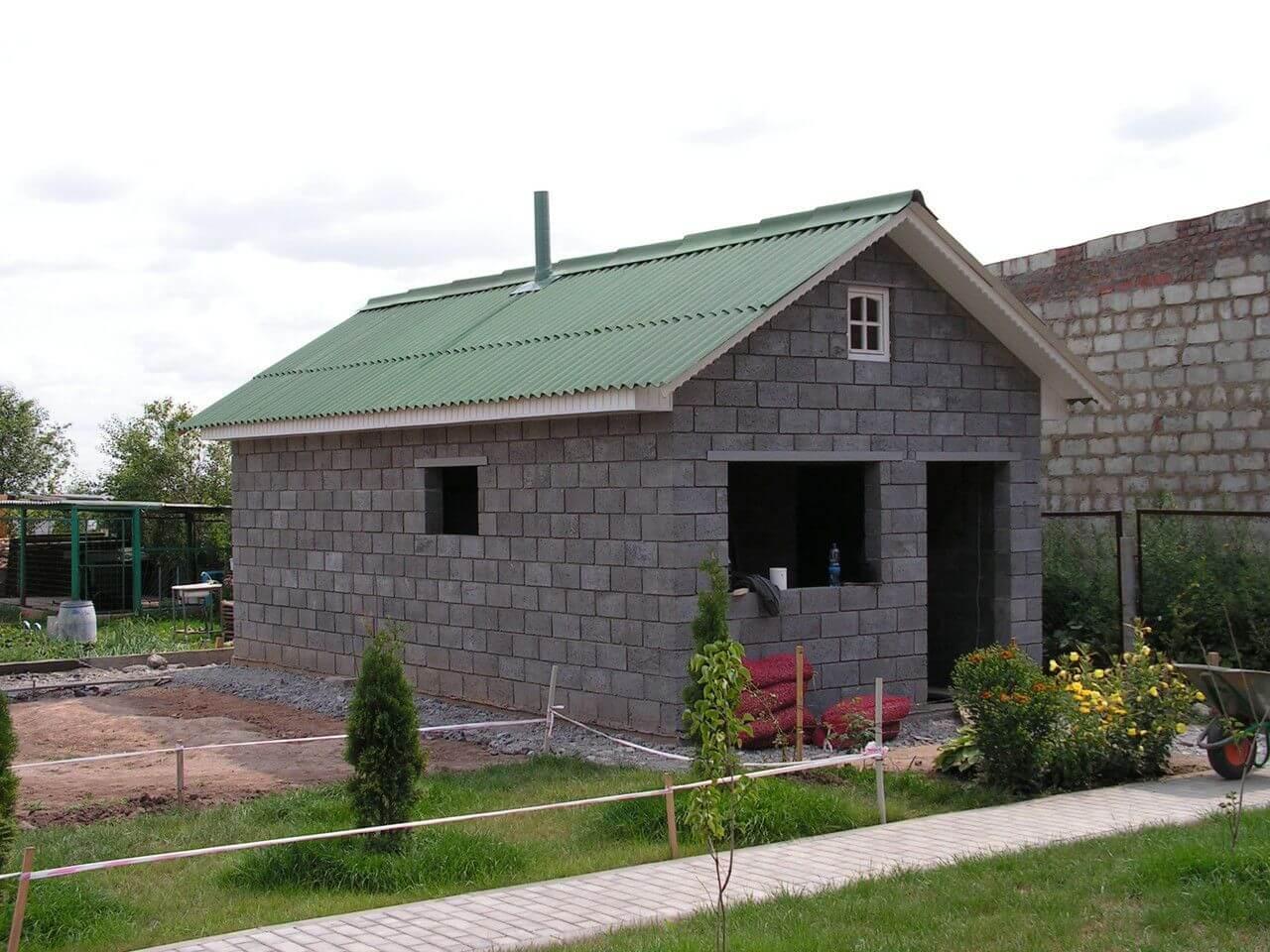 Дом из пеноблоков своими руками + схема, фото