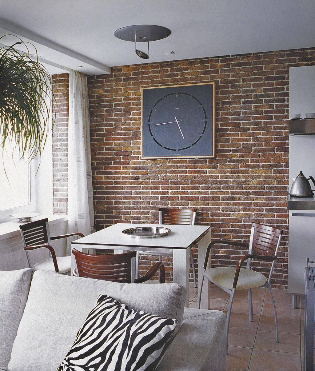 Декоративный кирпич для внутренней отделки +75 фото в интерьере
