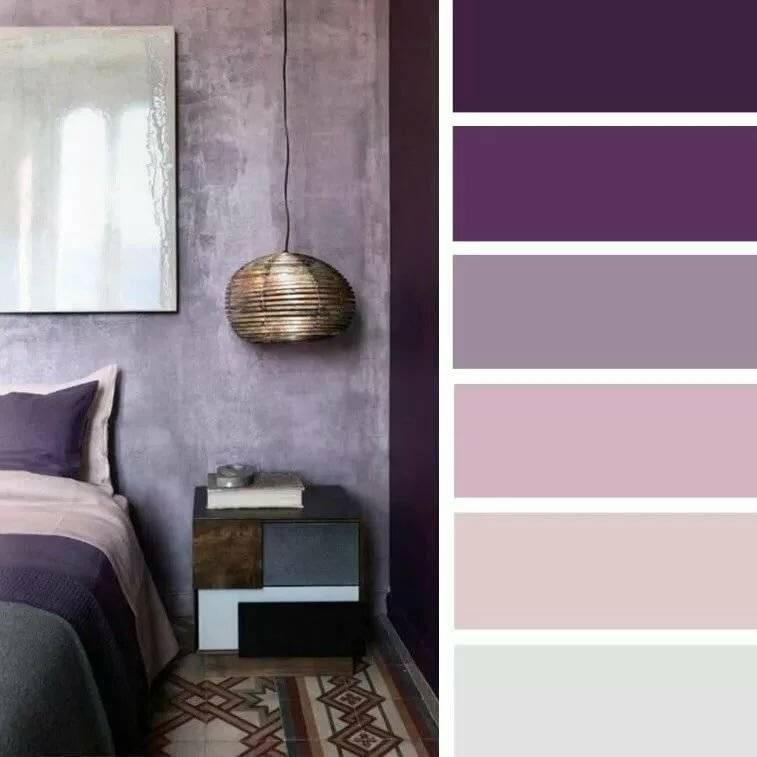 75 идей комбинирования сиреневого цвета в интерьере