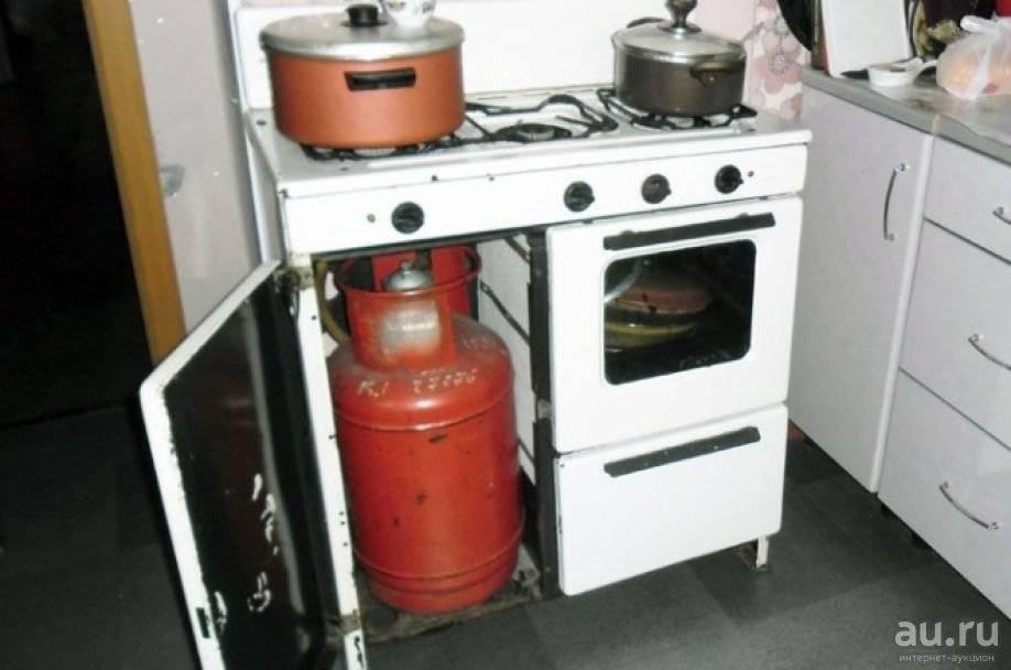 Как подключить газовую плиту к баллону - qteck.ru