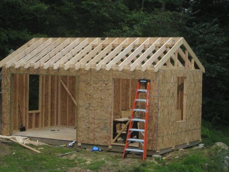 Садовый домик своими руками: как построить недорого?