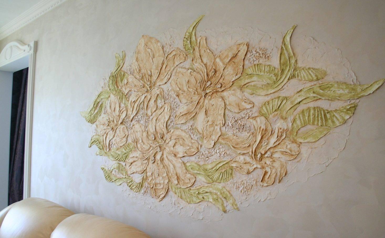 Барельеф своими руками: мастер-класс для начинающих  — скульптурный шедевр на стене | (100 фото & видео)
