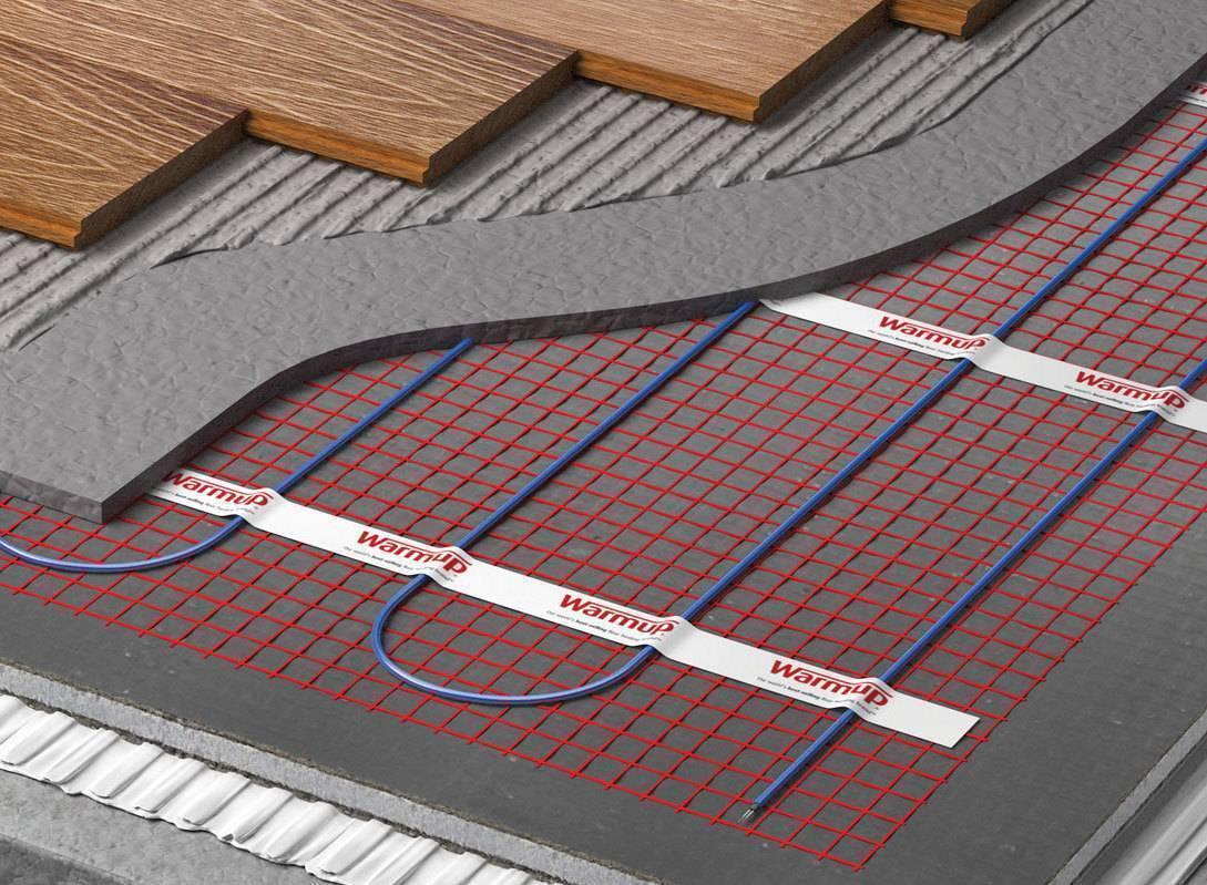 Как стелить электрический теплый пол под ламинат