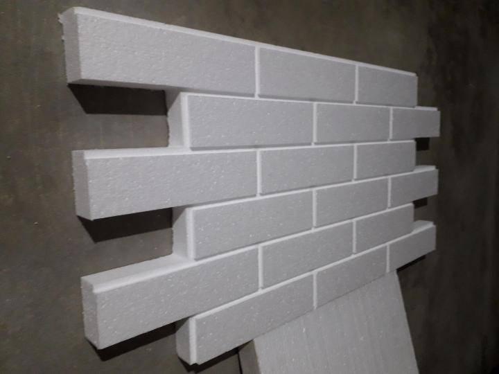 Пенопластовые панели для стен под кирпич - о строительстве и ремонте простыми словами