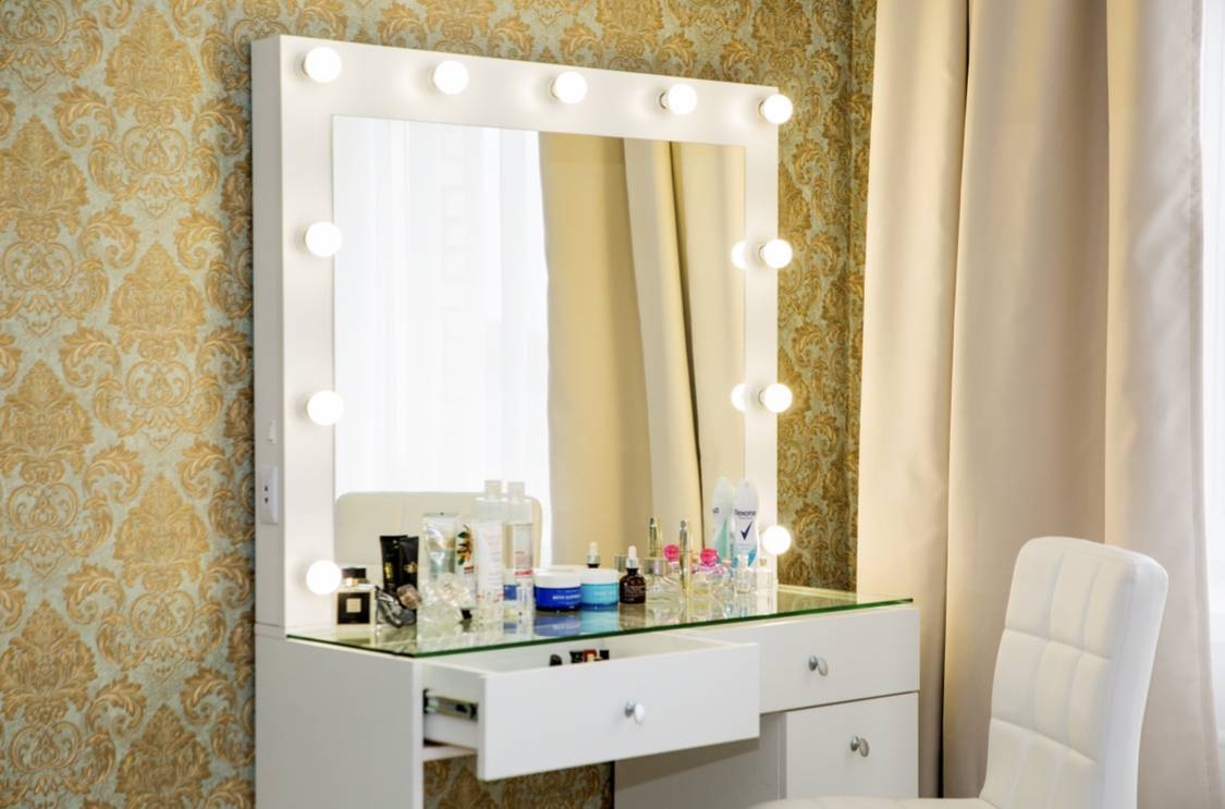 Туалетный столик - 130 фото основных модных разновидностей