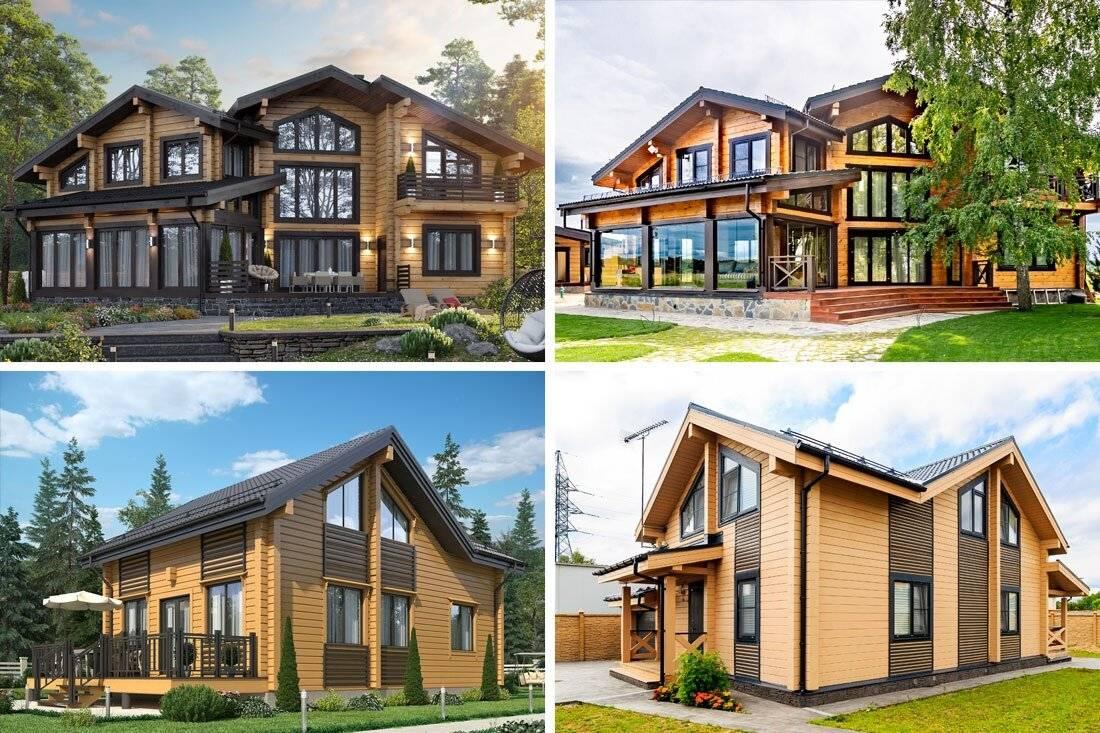 Дом из клееного бруса: плюсы и минусы строительного материала