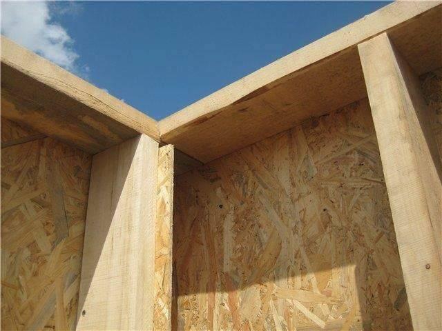 Дом из осб панелей: преимущества каркасных построек