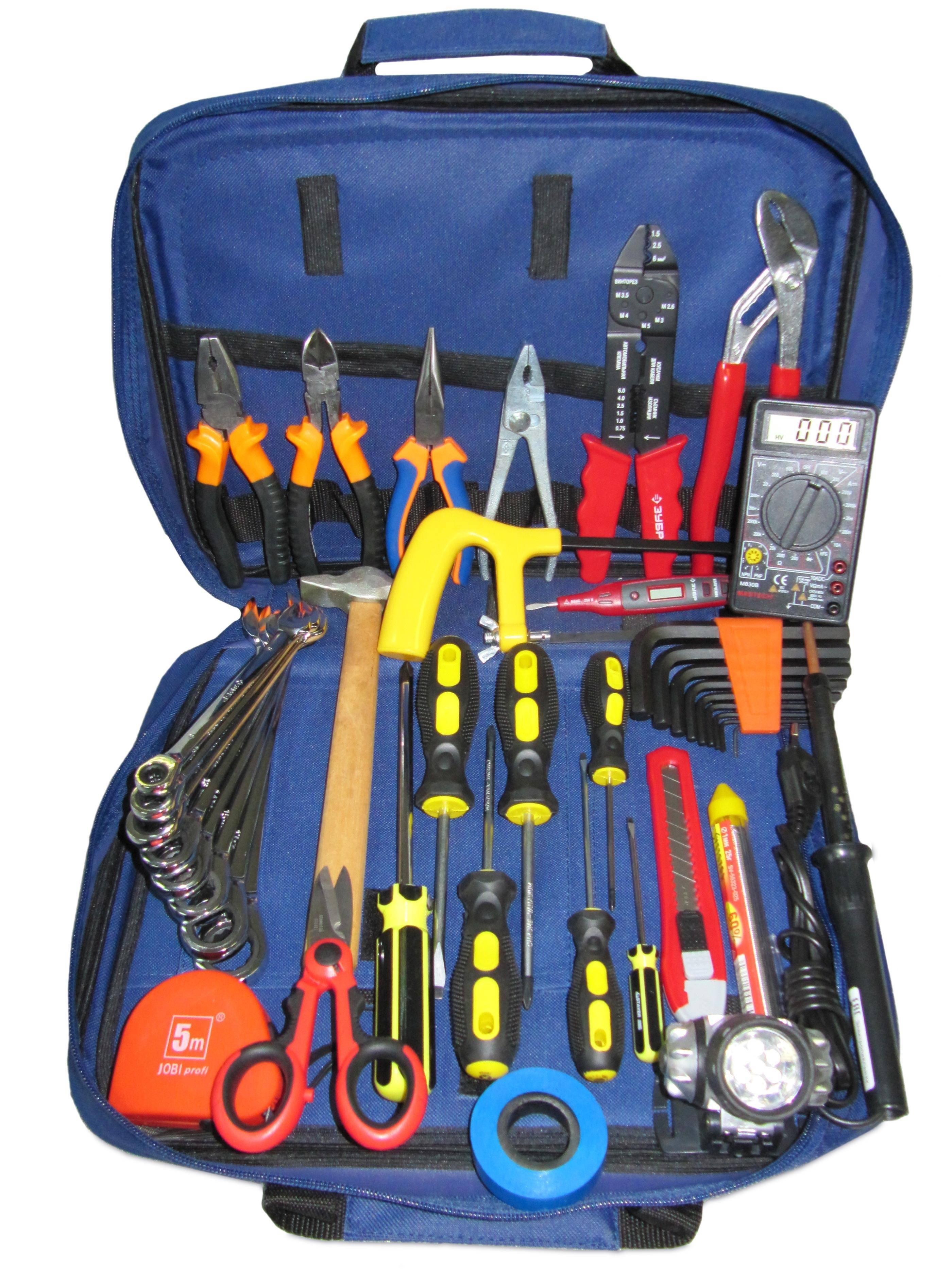 Инструменты электрика: список, описание, фото всего набора