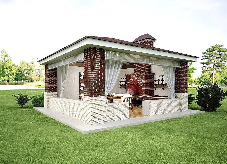 Как построить летнюю кухню своими руками? летняя кухня открытого и закрытого типа