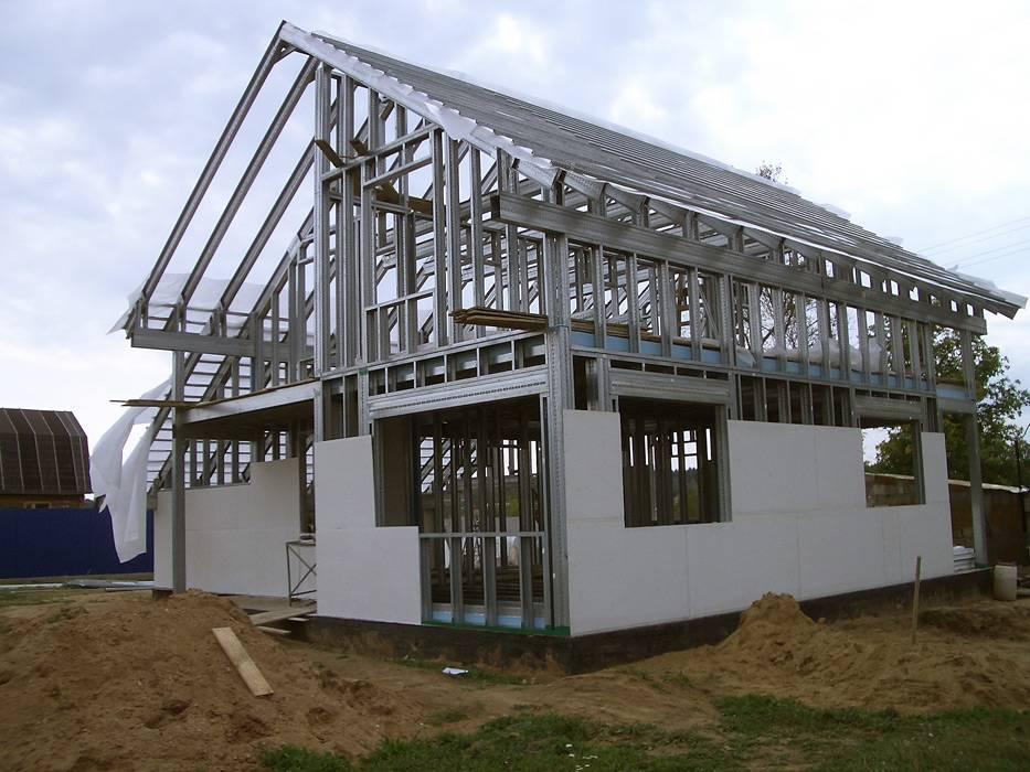 Строительство каркасных домов из лстк в краснодаре: здания из металлоконструкций