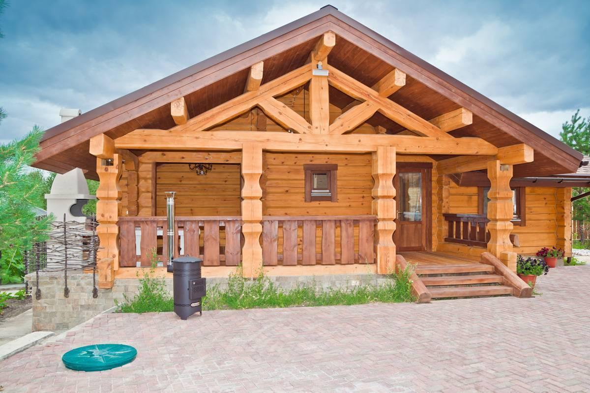 Срубы домов из лафета, цены на дома из лафета, срубы деревянного дома в чашу