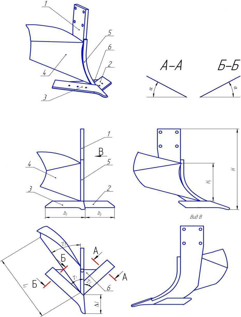 Изготовление плуга своими руками из предплужника роторного