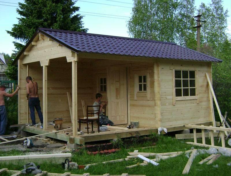 Дачный домик своими руками: проекты, фото и видео