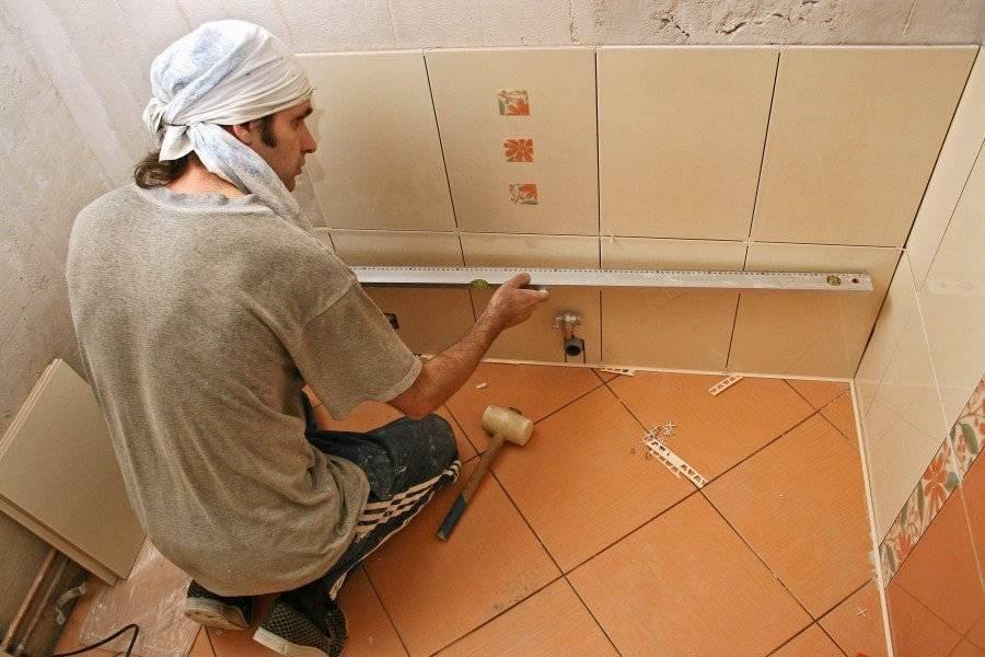 С чего лучше всего начать ремонт в ванной?
