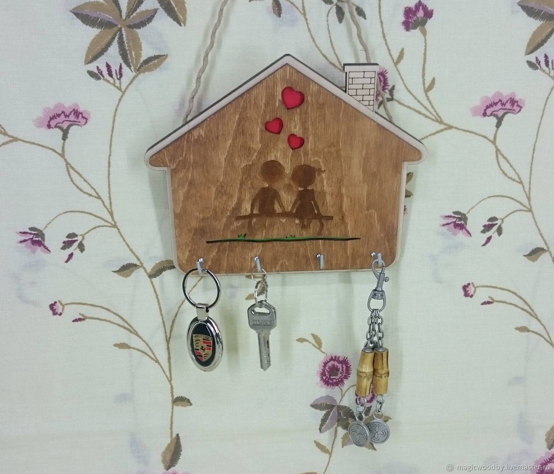 Настенная ключница – примеры оригинальных вариантов, как сделать своими руками, где повесить ключницу?