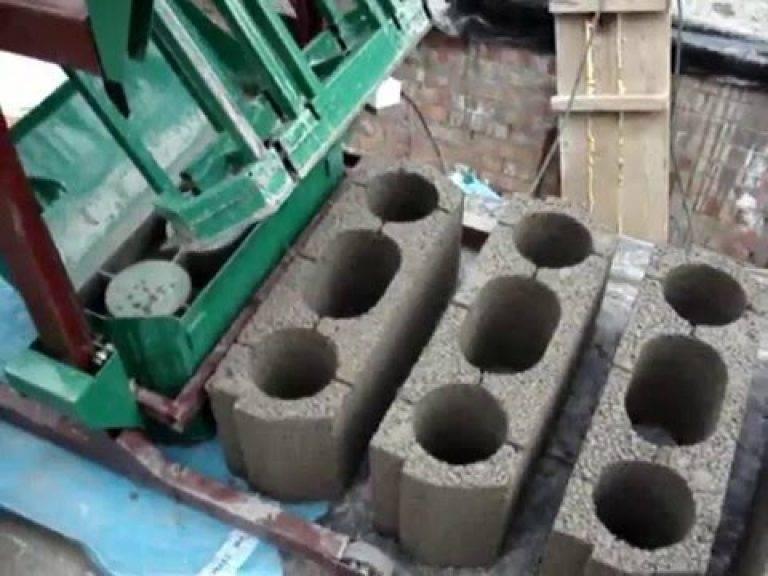 Керамзитобетонные блоки - изготовление своими руками