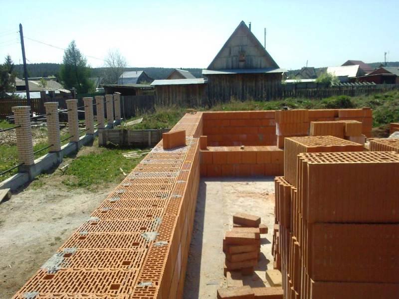 Поризованные керамические блоки: плюсы и минусы для строительства дома