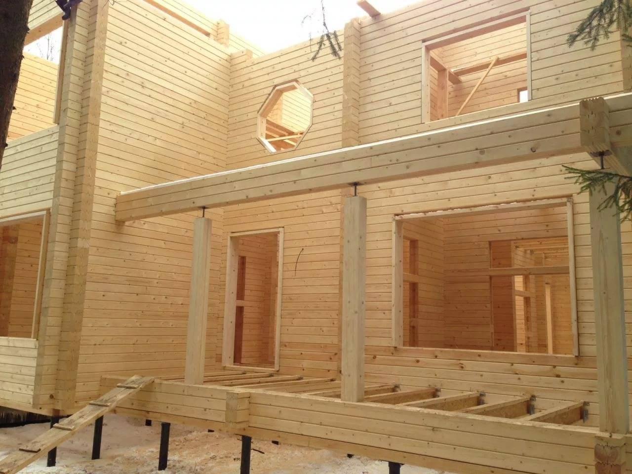 Профилированный брус камерной сушки в москве |дома из сухого бруса от паин хаус.