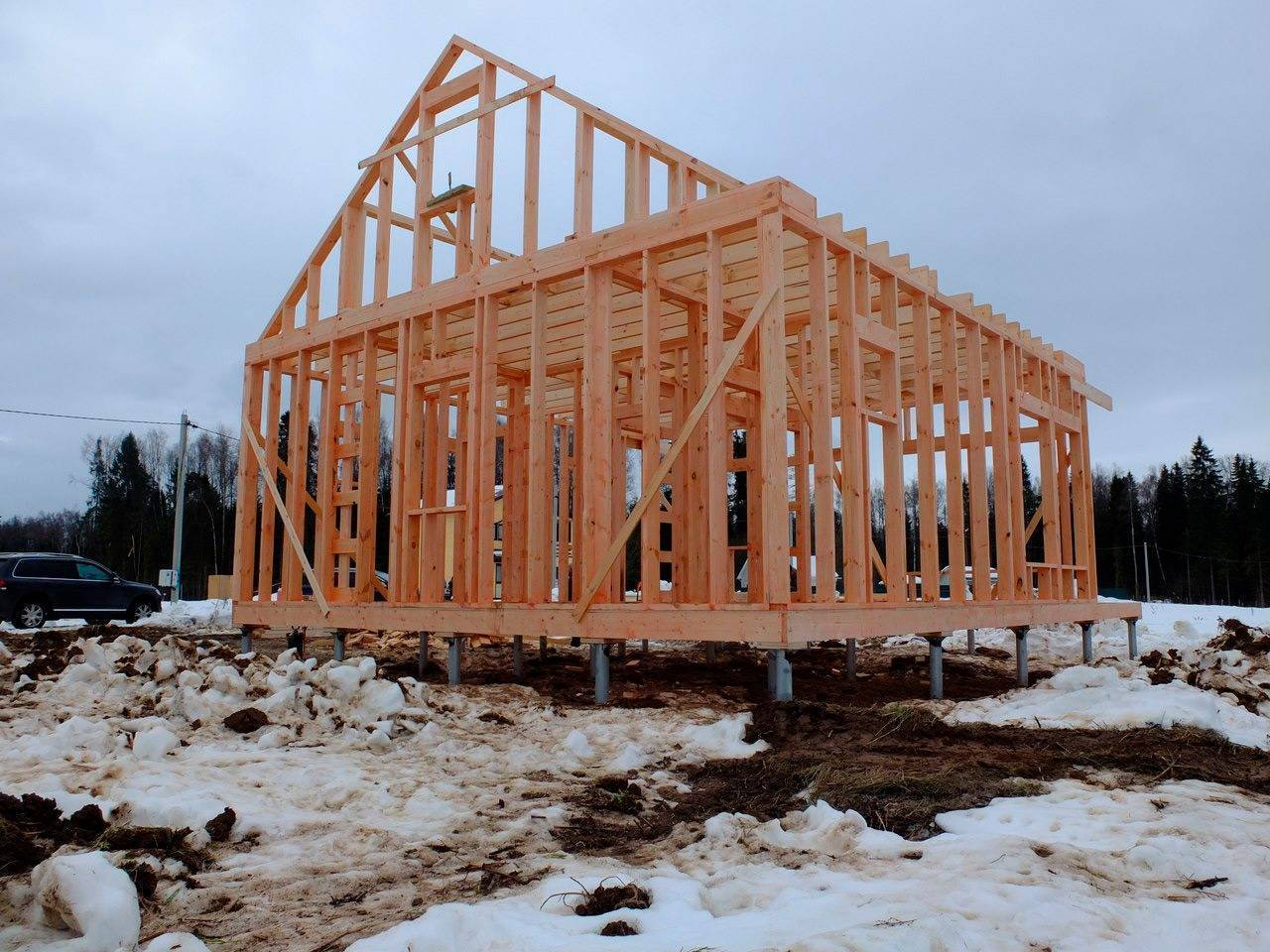 Финские каркасные дома: технология строительства своими руками под ключ, проекты
