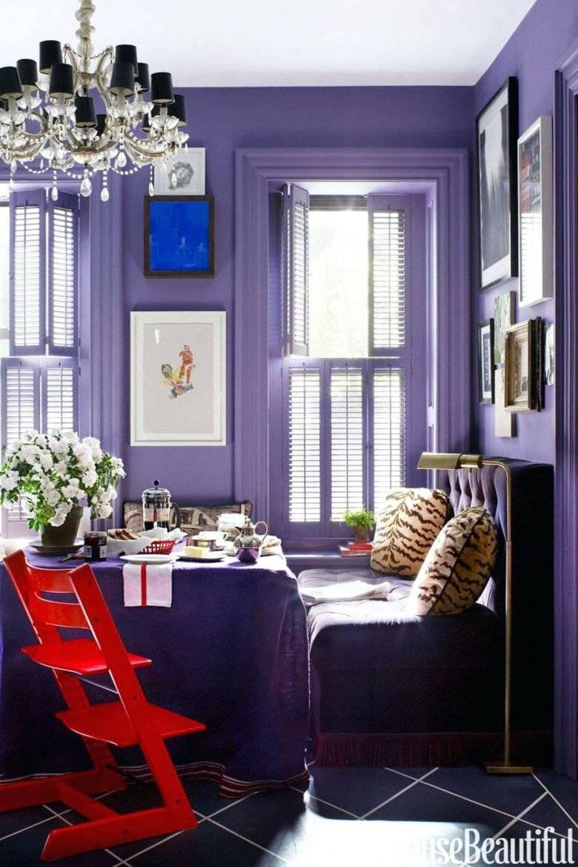 Спальня в серо-фиолетовых тонах (33 фото): дизайн интерьера в серо-фиолетовом цвете