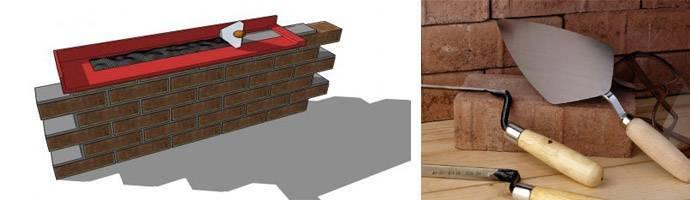 Как сделать приспособление для кладки кирпича своими руками: размеры и монтаж конструкции