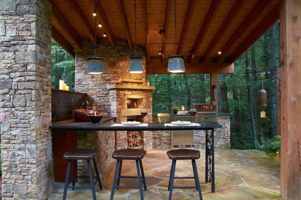 100 вариантов летней кухни для дачи: фото современных проектов